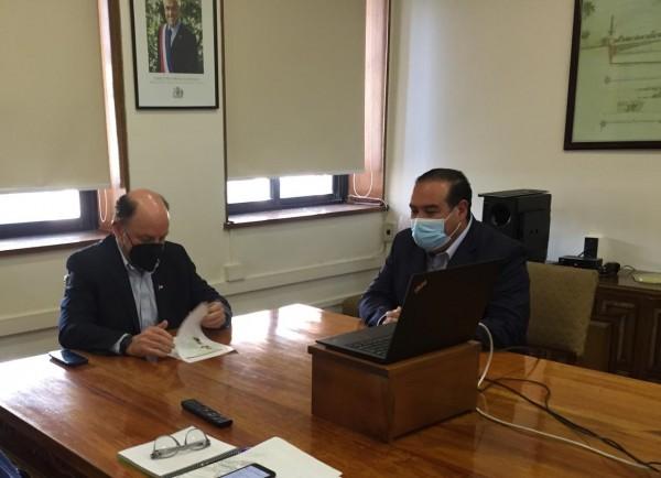 Alcalde Marcos Morales presenta oficio ante Ministro OOPP para oponerse a trazado en variante Ventanas de la carretera Nogales-Puchuncaví